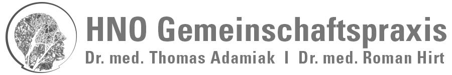 Facharztpraxis Dr. med. Thomas Adamiak I Dr. med. Roman Hirt
